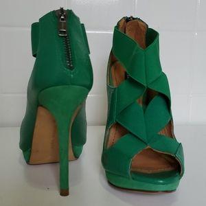 Zara woman Green heels